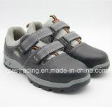 Sapatas de segurança de aço do dedo do pé para o verão