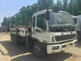 37m 2003 26ton / 10cylinders 8 * 4-LHD-Drive Concrete-Transform SGS / Ce Occasion Isuzu-Chassis Schwing-Pump Truck