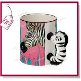 Creativo! 11oz Ceramic Coated Mug con The Shape di Animals