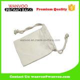 カラー綿布のドローストリングの宝石類袋の中国の流行の自然な製造者