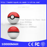 2016 Nouvelle conception 10000mAh Pokémon Go Power Bank Pokeball