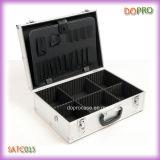 Caixa de ferramentas dura da pasta do frame de alumínio de prata (SATC015)