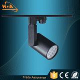 PVC que encaixota a iluminação da trilha da luz 5W da trilha do diodo emissor de luz da aplicação comercial