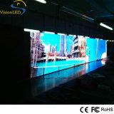 Pantalla al aire libre fija del alto brillo P10 de la visualización de LED de la instalación