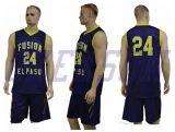 Le basket-ball Jersey de Camo sublimé conçoivent des vêtements de sport en fonction du client de Jersey de basket-ball