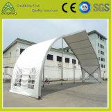 Barraca Shaped do PVC do alumínio do pêssego para o banquete de casamento de acampamento ao ar livre da exposição
