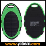 5000mAh Dual USB Waterproof Solar Power Bank Charger
