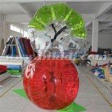 Шальной спорт! ! ! Шарик пузыря футбола цвета TPU горячего сбывания половинный раздувной людской определенный размер, Loopy шарик D5018