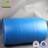 55ガロンのプラスチックバレル200リットルの青いプラスチックドラムか小さい開いた上が付いているバレルWholeale