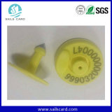 134.2kHz RFID Ear Tag para Animal Management