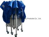 Fahrbares Stahlrahmen-faltbares Kabinendach-Zelt für das Bekanntmachen