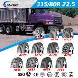 범위 ECE 점을%s 가진 모든 강철 광선 관이 없는 트럭 타이어 또는 타이어 315/80r22.5