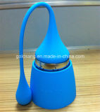 Water coloré Drop avec Long Tail Silicone Tea Infuser
