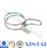 Ressort de bride de forme de fil en métal de prix usine petit