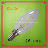 Ampoule chaude d'éclairage LED de la vente C35