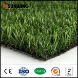 césped artificial sintetizado verde al aire libre de la hierba de 25m m para la piscina