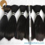 massa brasiliana nera dei capelli umani di Remy del Virgin 12inch