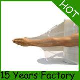 Película de estiramento transparente da pálete 50cm*20mic LLDPE do molde de sopro