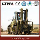 Chariot élévateur diesel de modèle neuf de Ltma chariot élévateur de terrain accidenté de 5 tonnes