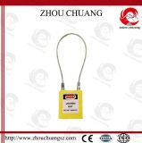 Cadeado material de aço durável endurecido do grilhão do cabo