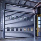 Sicheres Hochleistungs- Isolierhochgeschwindigkeitsmetallwalzen-Tür (HF-1142)