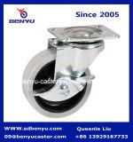 Il metallo grigio di bassa potenza ha frenato la rotella della rotella girevole
