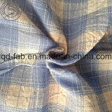 Tela mezclada rayón de lino del algodón (QF13-0548)