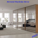 Декоративное Silver Mirror Glass для Home и Commercial Interior Applications