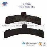 Sapata e bloco compostos de freio de Materail para o trem