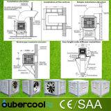 Refrigerador industrial/comercial montado azotea del desierto/refrigerador de aire de /Evaporative del refrigerador del pantano