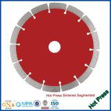 Вырезывание диаманта Turbo горячего давления супер, котор развевали увидело лезвие/резец/колесо/диск