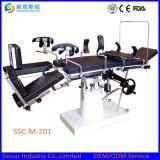 Mesa de operaciones quirúrgica ortopédica manual competitiva del uso general de China