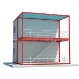 Casa moderna prefabricada del envase del bajo costo