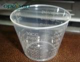 Copo de medição plástico com tamanhos diferentes