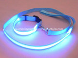 Flashing di nylon LED Dog Leash con Night Light