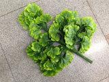 Искусственние листья Dgingko для украшения сада