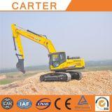 Excavatrice hydraulique lourde multifonctionnelle chaude de chenille de Carter CT220-8c de ventes