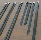 自己Locking/PVCによって塗られるステンレス鋼ケーブルのタイ