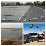 河岸Tunnel Canel ProjectsのためのHDPE Point Textured Geomembrane
