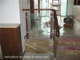 Модный и шикарный Railing твердой древесины стеклянный