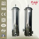 Carcaça do filtro em caixa de água do aço inoxidável