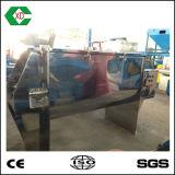 Horizontal de la cinta homogeneizador de palas de mezcla en polvo de la máquina