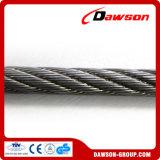 Corde galvanisée ou d'Ungalvanized de fil d'acier