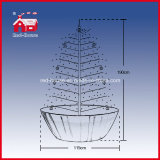 Neues Style Hot Sell PVC Snowing Christmas Trees mit LED Lights