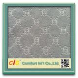 Car Seat Upholstery Fabricのための明白なEmbossing Fabric
