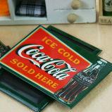 Magnete su ordinazione del frigorifero del segno di marchio del ricordo dello stagno del metallo