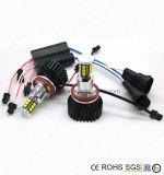 luz de etiqueta de plástico del ventilador LED de 12LED E92 H8 60W Guider para los ojos del ángel