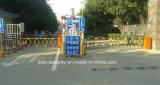 Puerta automática inteligente de las barreras del estacionamiento del coche con la barrera del sistema del estacionamiento del coche del auge de la cerca