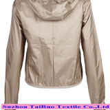 Nylon mit Shiny Waterproof Fabric für Down Jacket