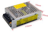 diodo emissor de luz Power Supply de 30W 5V Indoor com CE